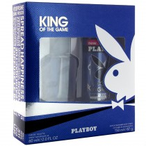 Playboy - Coffret Homme Déodorant spray 150ml + Eau de Toilette 60ml KING OF THE GAME